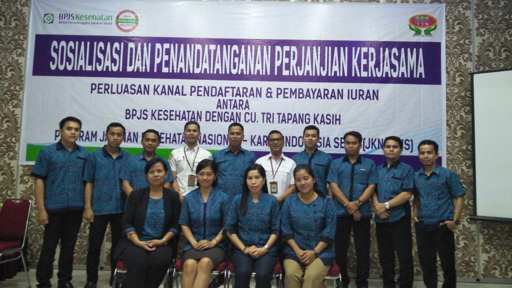 Manajemen CU Tri Tapang Kasih dan Pihak BPJS
